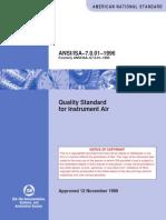ANSI/ISA–7.0.01–1996