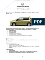 Manual Informacion General Sistemas Partes Auto c11 Tiida 2007 Sedan Hatchback