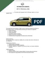 Manual Informacion General Sistemas Partes Auto c11 Tiida 2007 Sedan Hatchback