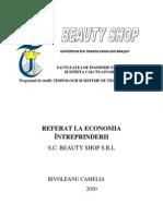 Proiect Beauty Shop