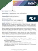 Sociologia UNTDF
