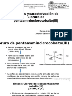 Synthesis and characterization of cobalt chloride pentaammin chlorine (III).pptx
