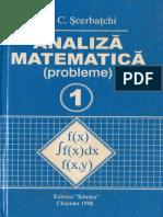 Analiză Matematică (Probleme)-Volumul 1-Ion C.Şcerbaţchi