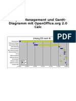 OpenOffice Calc - Project Management
