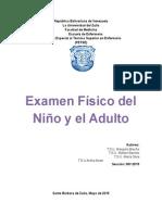 Examen Fisico Del Niño
