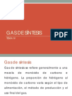 Gas de Sintesis