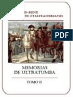 Chateaubriand Francois - Memorias De Ultratumba - Vol II.epub