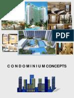 Condominiu CONDOMINIUM CONCEPTSm Concepts