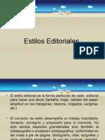 Estilos Editoriales