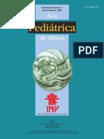 acta de pediatria