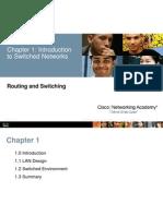 Cisco 2 Chapter 1