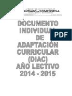Documento Individual de Adaptacion Curricular 14-15