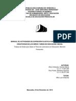 Manual de Expresión Plástica M.C