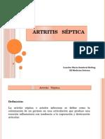 Artritis   Séptica.pptx