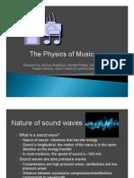 Physics of Music