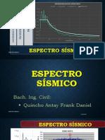 ESPECTRO SISMICO