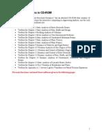 MATLAB Functions in CD-ROM