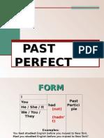 ingles Past Perfect