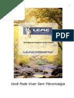 Lemeterapia Voce Pode Viver Sem Fibromialgia Edicao 2013