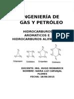 Hidrocarburos alifáticos y aromaticos