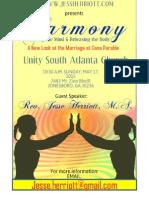 Harmony flyer