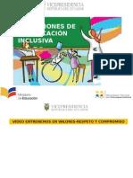 Presentación 3 Dimensiones, Inclusion, Escuela, Rol Docente-1