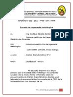 informe de granulometria N°2 Finos