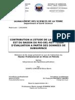 Couverture Mémoire MINPE