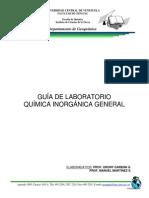 Guía de Laboratorio - Química Inorgánica