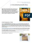 Reiki Really Works-A Groundbreaking Scientific Study