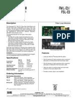 Fiber Optic Loop Modules 9021-60783