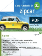 Zipcar Case Analysis