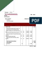 Presupuesto Terraza Corregido