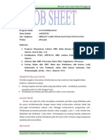 Job Sheet Breast Care Nifas