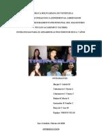 Estrategias Para El Desarrollo Psicomotor
