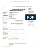 VI Congreso Nacional de Estudios Regionales y La Multidisciplinariedad en La Historia _ H-México
