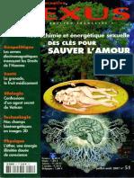Neurochimie Et Energie Sexuelle