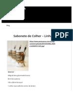 Sabonete de Colher – Linha Gold