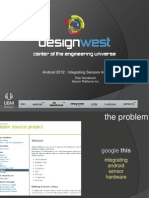 Design West Android Sanderson Integrating Sensor Hardware Android