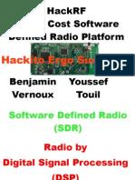 HackRF - A Low Cost SDR Platform