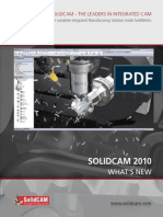 Whats New in SolidCAM2010