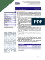 Acceleron Initiating Report Oct 1 2014