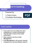 Cost Control in banking sector (FINAL).ppt