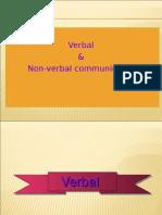 Lect 4- VERBAL_Nonverbal