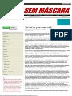 Mídia Sem Máscara - Cretinices Gramscianas (I)