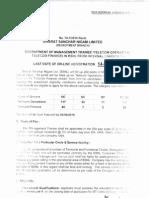 Management Trainee Internal BSNL