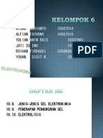 Sel Elektrokimia III