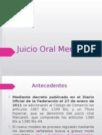DPCM Presentacion Juicio Oral Mercantil