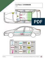 Renault Rettungsdatenblatt Megane 1 Scenic 201