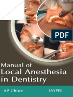 Manual of Local Anesthesia in Dentistry, 2E (2010) [PDF][UnitedVRG]